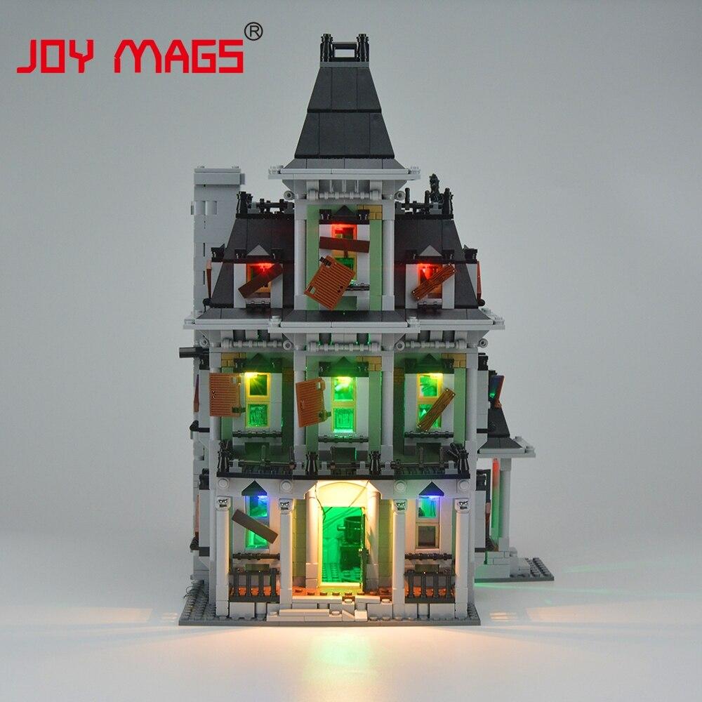JOY MAGS Meningkatkan Kit Lampu Led Untuk Pencipta 10228 City Monster - Mainan pembinaan - Foto 3