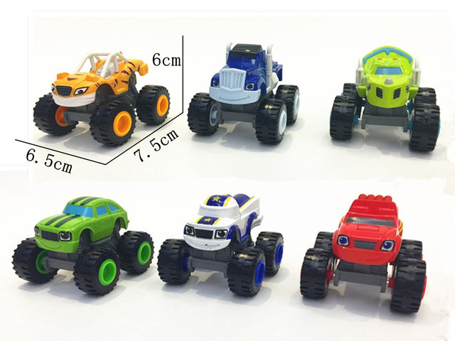 2017 6 PCS Rússia Máquinas de Incêndio Brinquedos Milagre Do Veículo Do Carro Com Caixa Original Melhores Presentes Para Crianças Frete Grátis