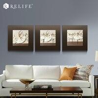 Frameless Modern Ballet Dancing Girl Paintings 3D Wall Art for Living Room Home Decor