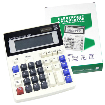 NOYOKERE Big Buttons Office Calculator Large Computer Keys Muti-function Computer Battery Calculator High Quality