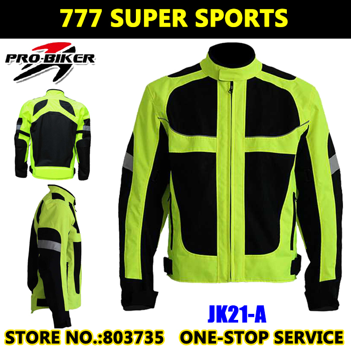 Moto Reflective Jackets Motorcycle Jacket Safety Cycling Team