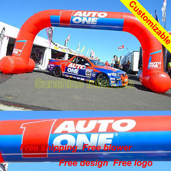 Cheap Trampoline For Sale | Grand Openning 8m Red Used Promotional Cheap Inflatable Arch With Free Standing For Sale
