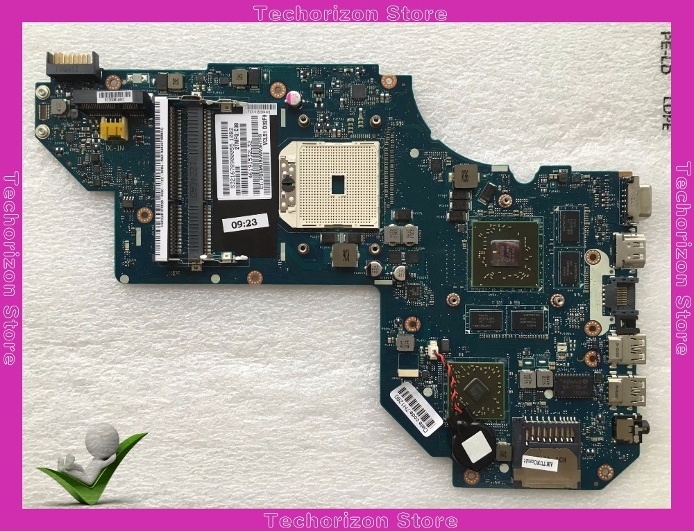 702177-501 702177-001 fit for HP M6 laptop motherboard HD7670M/2G LA-8712P mainboard Tested working