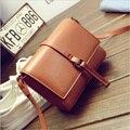 Venta caliente de La Manera Mini Flap Bag PU mujeres del otoño del resorte de Cuero Pequeño bolso de mano Bolso Messenger Bag XD3791