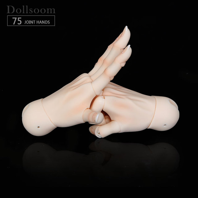 New Hands Jointed hands For 1//4 1//3 BJD Doll