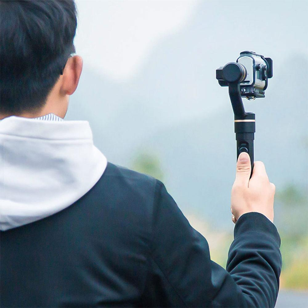 Image 5 - FeiyuTech G5GS Handheld Gimbal 3 Axis Camera Stabilizer for Sony AS50 AS50R  X3000 X3000R Splash Proof 130g 200g Payload-in Handheld Gimbal from Consumer Electronics