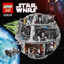 Star Wars Death Star LEPIN 05035 3804pcs Building Block Bricks Toys Kits Minifigure Compatible with 10188