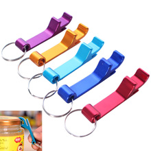 Keychain Bottle-Opener Gift Beer Can-Personalized-Logo Aluminum 1PCS Nice Pocket 4-In-1