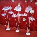 Искусственный цветочный столб свадебное дорожное плетение Шелковый цветок для вечеринки свадьбы креативный Декор стерео пряжа цветок для ...