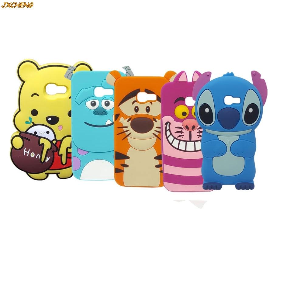 3d Cartoon Batman Stitch Minnie Winnie Pooh Bear Sully Tiger Alice Silikon For Xiaomiredmi3s Silicone Phone Case Samsung Galaxy A3 A5 A7 2017 Honey Poohsully