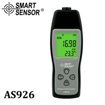 Prędkościomierz obrotowy cyfrowy laser tachometr z aparatem prędkościomierz obrotomierz fotoelektryczny 100 ~ 30000 RPM tester do silnika samochodu tanie i dobre opinie SMART SENSOR AS926 5 digitas and Large LCD display 100~30000RPM 0 1RPM (2 5~999 9RPM) 1RPM (Over 1000RPM) 50mm~400mm ±(0 05 +1 digits )