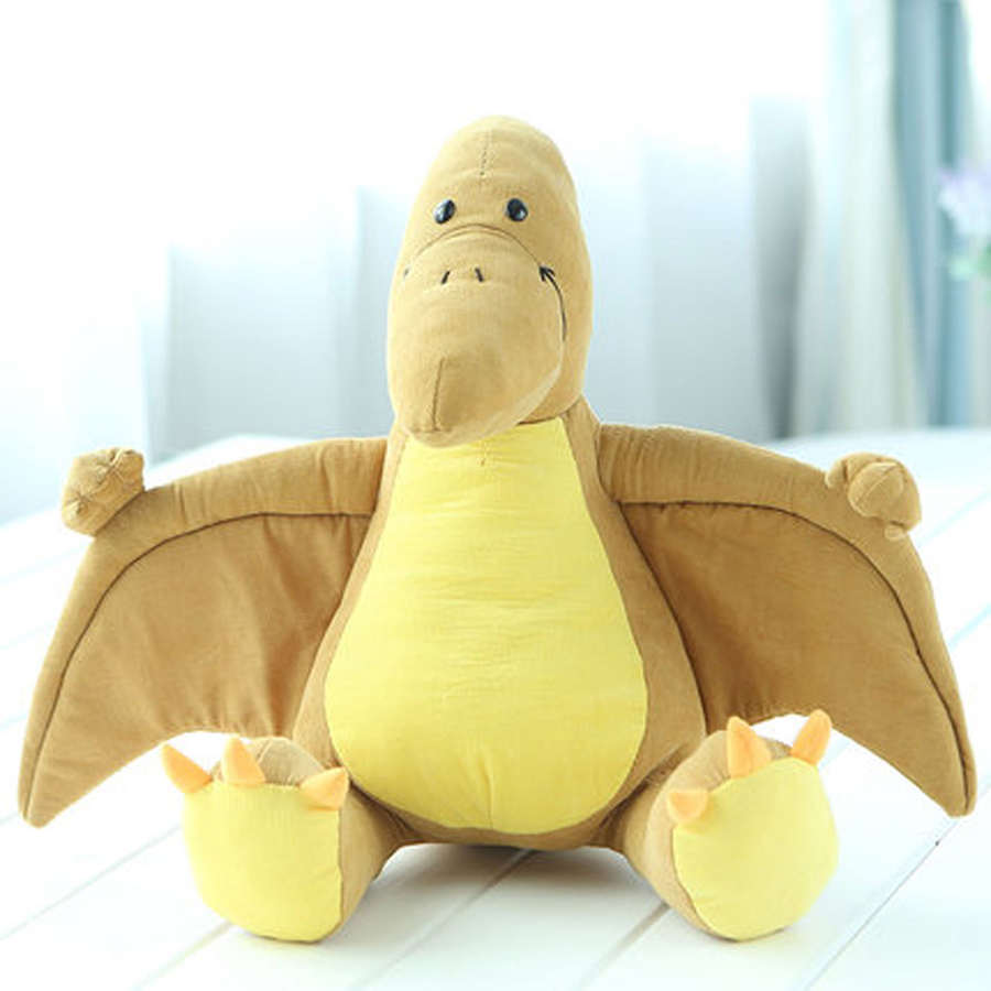 Cartoon Soft Comfort Stuffed Plush Toy Animals Pillow Interactive Dinosaur Toys Oyuncak Bebek Birthday Gift Spielzeug 60G0307 60cm cute soft stuffed plush toy animal farm cartoon pink pig doll brinquedos menina toys for children oyuncak bebek 50g0222