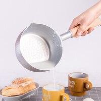 Life83 Japanese Style Aluminium Pan Milk Soup Heating Pot Gas Cooker Cooking Pan