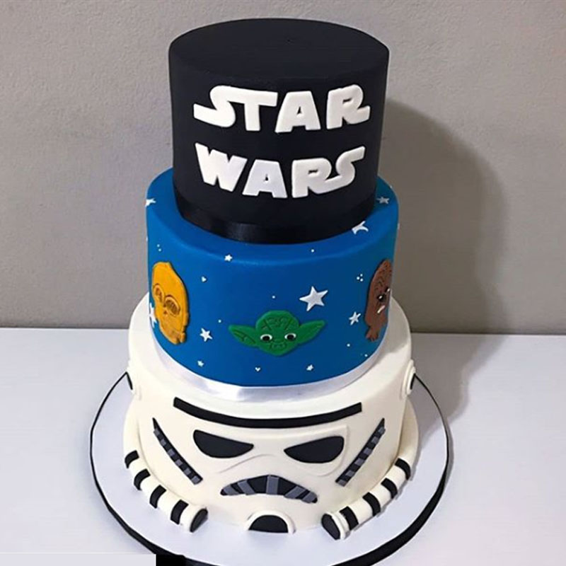 Star Wars Fondant Cutter Tv Characters Logo Cake Decorating