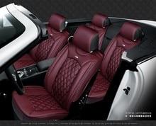 6 color de la Cubierta de Asiento de Coche Cuatro Estaciones Cojín Del Asiento de Coche de 5 Asientos Universal Car Styling para universal set