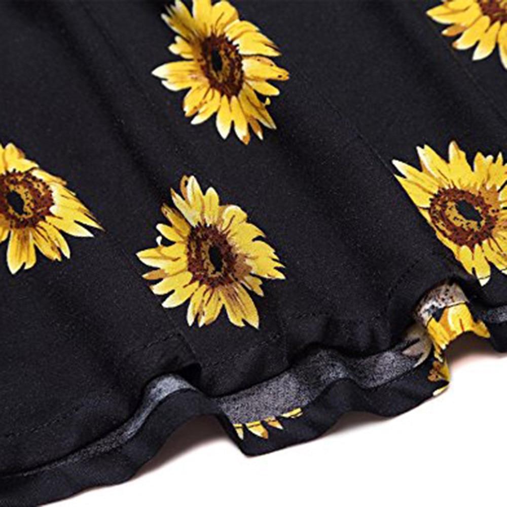 Women's Sleeveless Adjustable Strappy Summer Beach Swing Dress 4