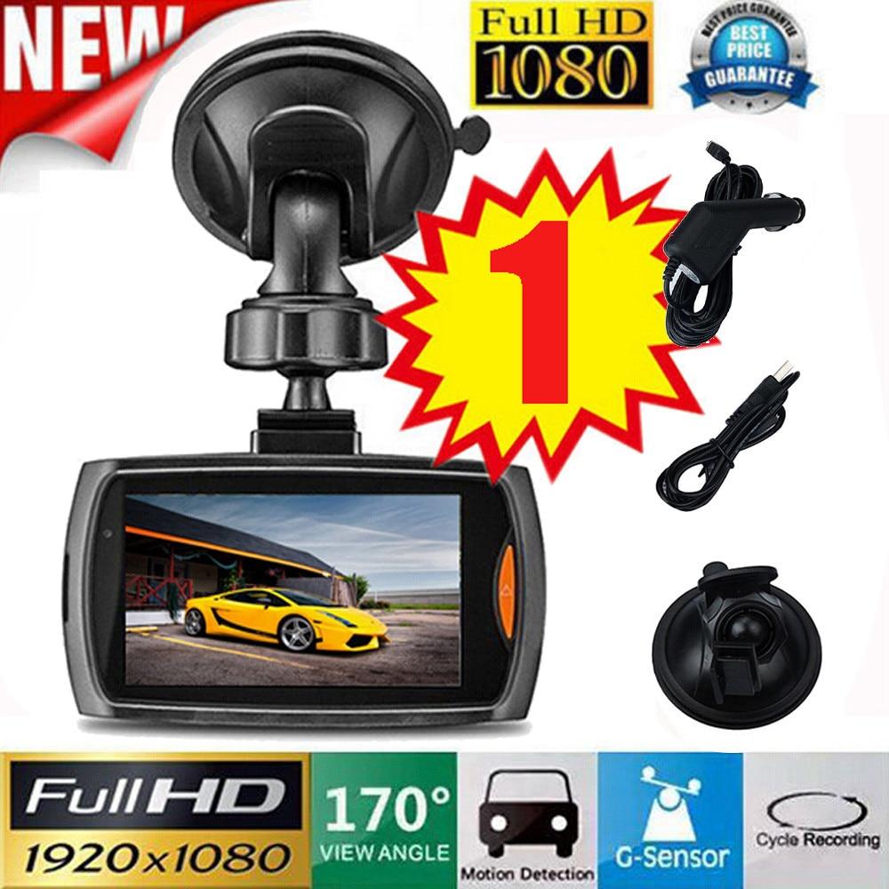 HD 2.2//2.4/'/' 1080P Car DVR Video Recorder Camera Dash Cam Night Vision G Sensor
