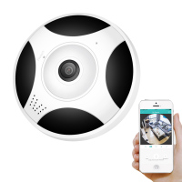 BESDER 3M Cable Wireless Camera Wifi HD 1080P 960P P2P Fisheye Lens 360 VR Panoramic CCTV Mini IP Camera SD Card Slot iCSee App Surveillance Cameras