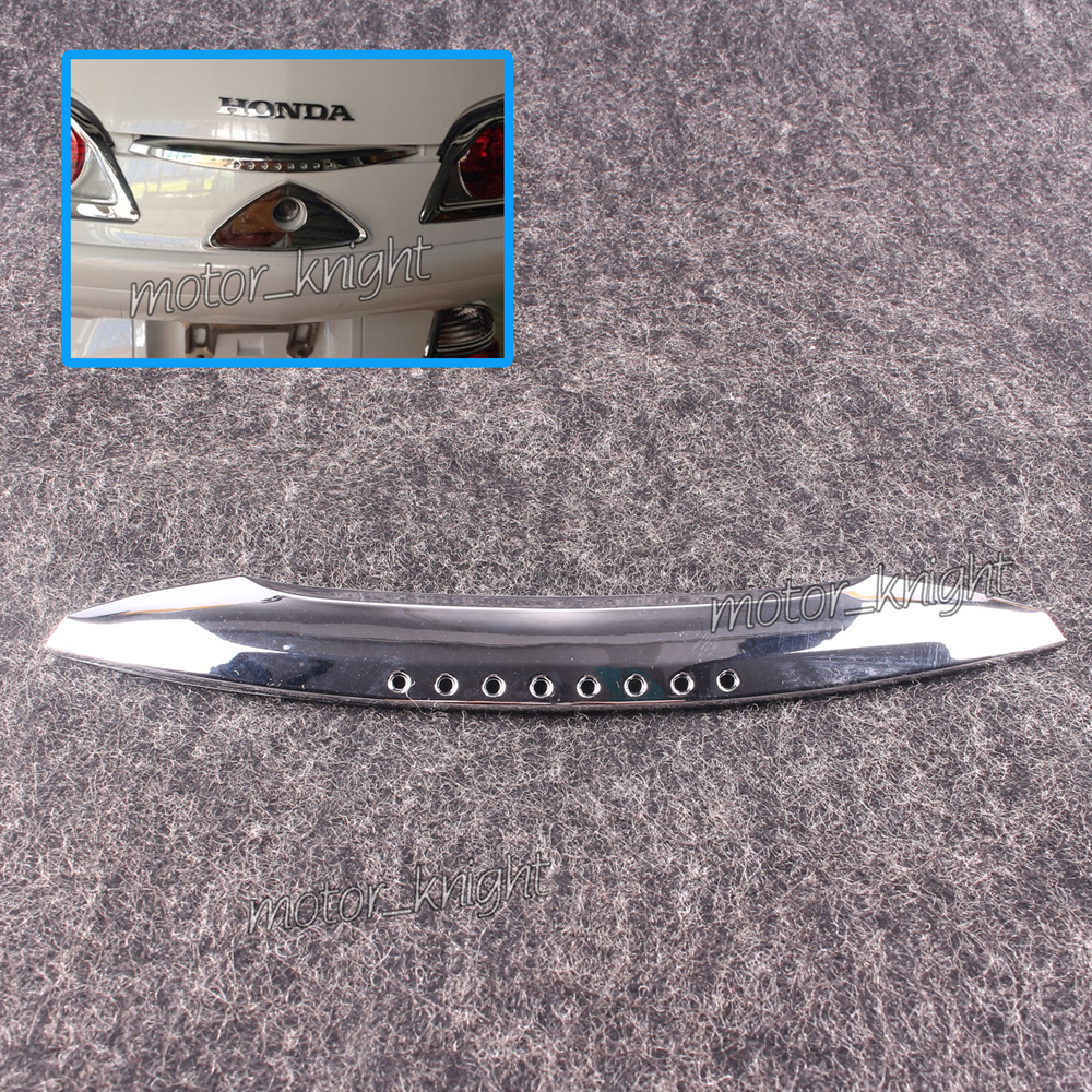 Goldwing Chrome Trunk Handle Trim For Honda GL1800 2001-2011 ABS Plastic