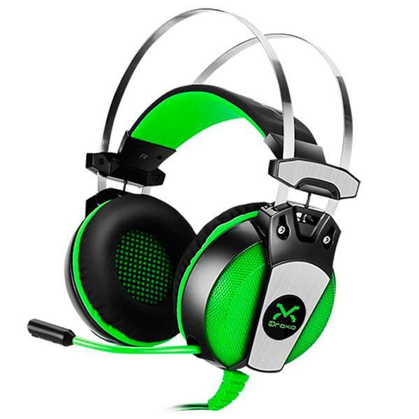 Casque d'écoute Gaming Droxio Hadlok USB + 3.5mm Microphone stéréo pliant