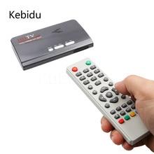 Kebidu EU Plug DVB-T/DVB-T2 TV Tuner Receiver DVB T/T2 TV Box VGA AV CVBS 1080P HDMI digital HD Satellite receiver for Monitors