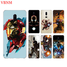 Silicome Phone Back Case For Oneplus 3 3T 5 5T 6 6T 7 Plus Gift Art Patterned Customized Cover Coque Cases Iron Man Marvel Hero