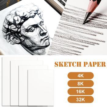 Artysta szkic papieru A4 4K 8K 16K 32K szkic rysunek akwarela papier 20 arkuszy dla artysty Student dostaw sztuki tanie i dobre opinie Papier do malowania Drawing Watercolor Paper