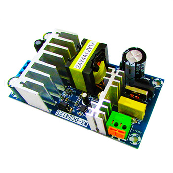 цена на AC 90-265V to DC 24V4A 12V1A 120W switching power supply module AC-DC Dual output