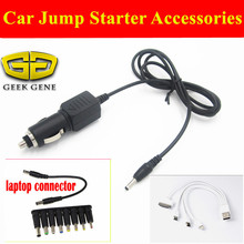 Geek Gene High Quality Car Jump Starter Power Bank Laptops Connector Best Product Universal Laptops cable and adapter Free Ship