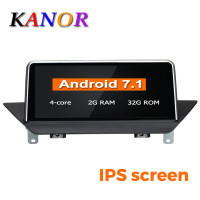 KANOR 10.25 Quad Core Android 7.1 2+32g IPS Car multimedia interface for BMW X1 E84 2009 2015 Navigation With Original CIC