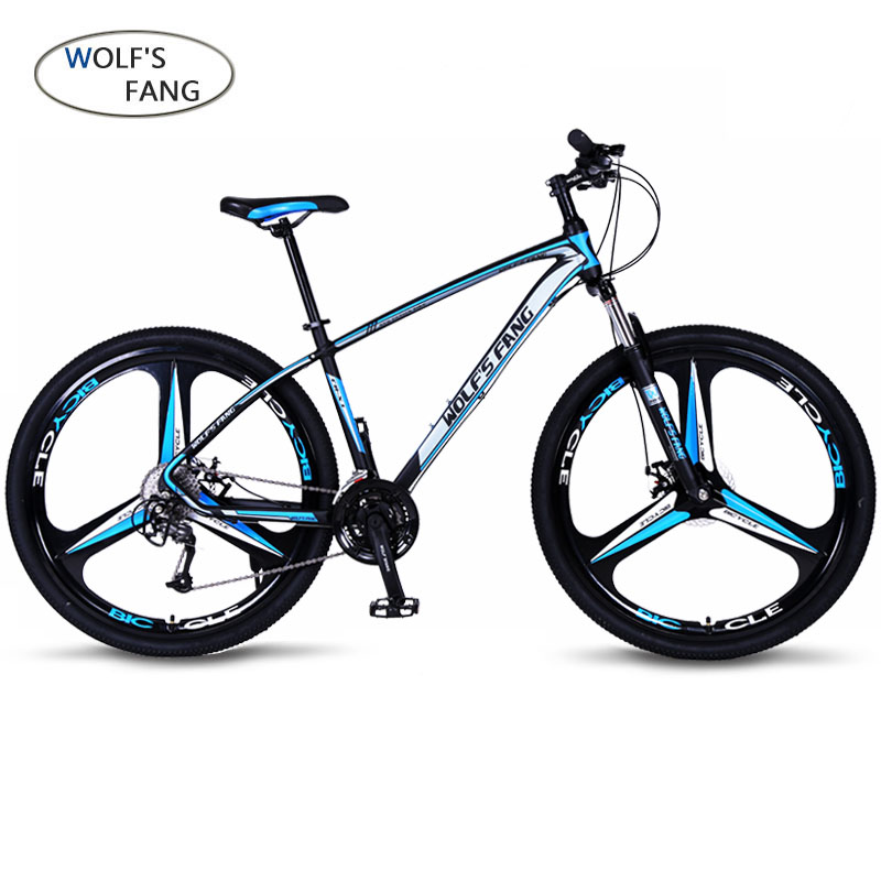 wolf s fang Bicycle 27 speed mountain bike 29 inch tire road bike frame size 17 wolf's fang Bicycle 27 speed mountain bike 29-inch tire road bike frame size 17 inch product unisex Resistance free shipping