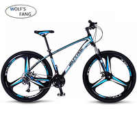 wolf's fang Bicycle 27 speed mountain bike 29-inch tire road bike frame size 17 inch product unisex Resistance free shipping