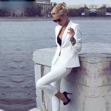 Women Pant Suits work clothes Hand Tailored Ladies Custom Made Business Office Tuxedos Work Wear