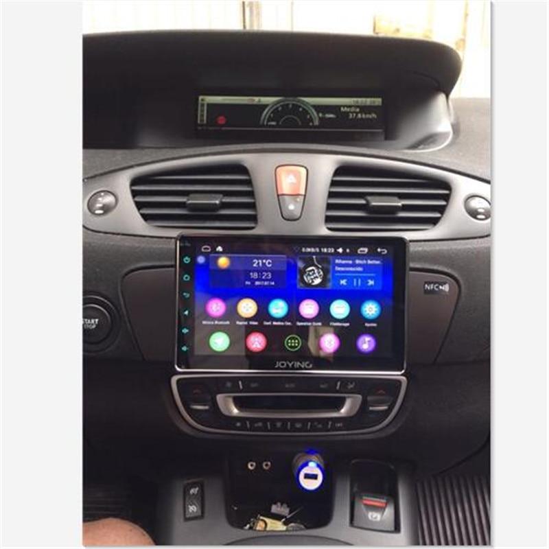 JOYING Unique 1 DIN Android 8.1 Universel autoradio stéréo Octa Core Autoradio navigation gps CFC soutien 3G/4g réseau DSP BT