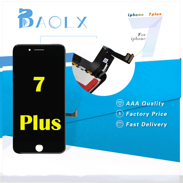 a10ac6d7211 For iPhone 7 plus Screen Replacement Lcd Display with Touch Highscreen  Digitizer Assembly Replacement 5.5 inch