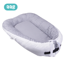 AAG Baby Nest Cotton Newborn Infant Portable Crib Bed Sleeping Travel Bassinet Bumper Foldable 40