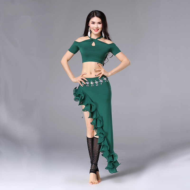 Stage & Dance Wear Competent Belly Indian Eastern Hair Swinging Baladi Dance Costumes Bellydance Oriental Dancing Costume Clothes Bra Belt Skirt Dress 3065