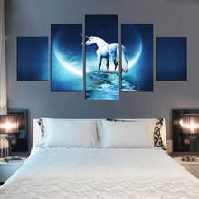 Horse print wall decoration minimalist art canvas poster print animal funny picture modern home living room wall decoration(China)
