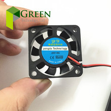 2pcs  DC5V 12V 24V 40mm 4cm 40x40x10mm for 3D printer Graphics card Cooling Fan PC  2pin
