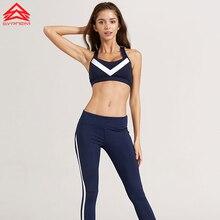 SYPREM Новый спортивная одежда Yoga пилатес Спорт Бюстгальтеры жилет нижнее белье Женщин Запуск Фитнес Ударопрочный мягкий спортивный бюстгальтер Push Up, 1FT0842