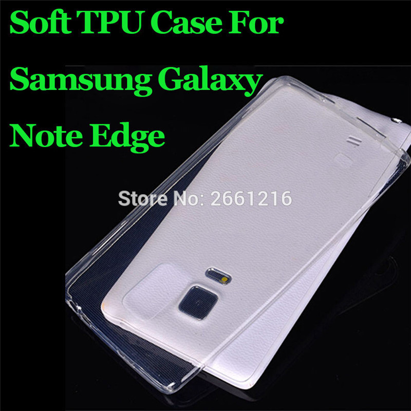 Note Edge Ultra Thin Soft TPU Silicon Gel Transparent Case
