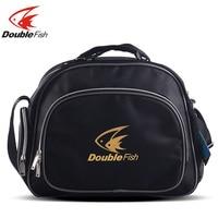 Double fish table tennis racket bag waterproof anti static mildewproof