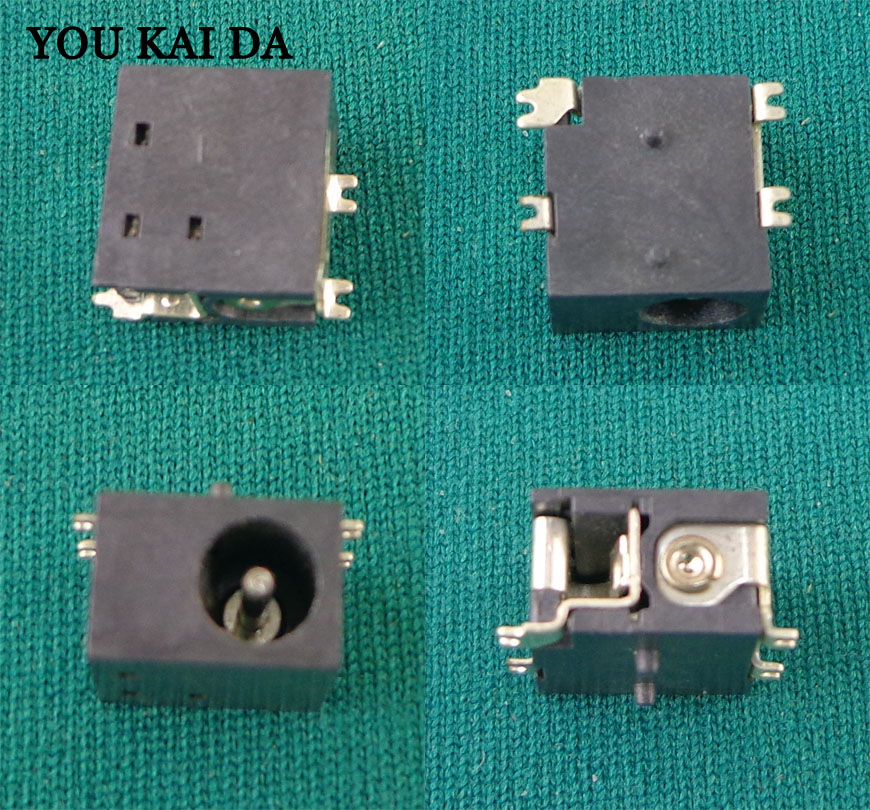 1.3mm Tablet PC 4 SMD foot Charging Power Connector DC Power Jack for Gemei X690HD <font><b>HD660</b></font>*100 image