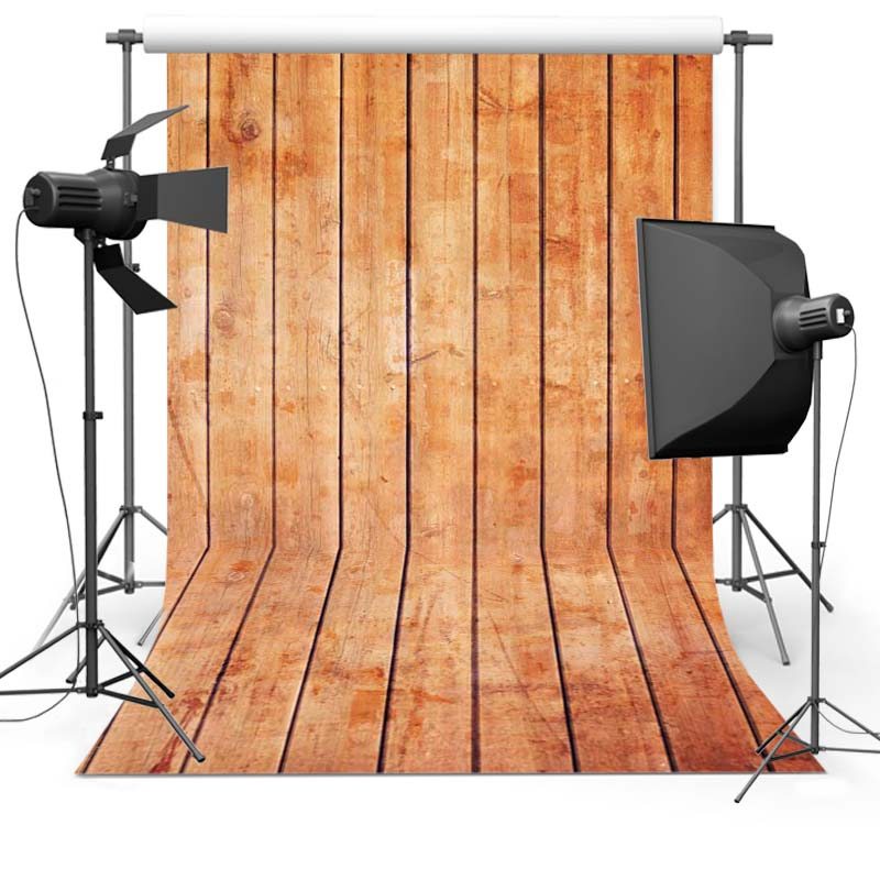 1.5x2.2M  Thin vinyl fabric computer Printed photography background wood floor photo backdrops for photo Studio  Floor-626