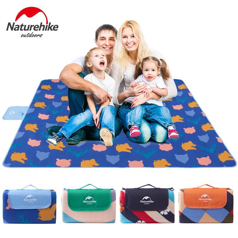 Naturehike Outdoor Camping Mat Picnic Mat Portable Ultralight Suede Moistureproof Waterproof Tourist Sleeping Pad Beach Yoga Mat