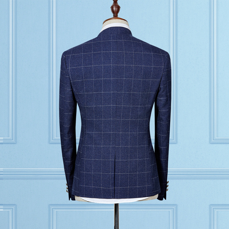 MS50 2017 Standard Collar Classic Skräddarsydd Mäns kostym Blazers - Herrkläder - Foto 4