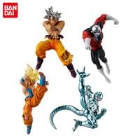 Dragon Ball SUPER Original BANDAI Battle VS Gashapon Toy Figure Part 6 Full Set 4 Pcs Son Goku (Ultra Instinct) Jiren Coolar