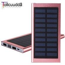 Tollcuudda супер тонкий полимерный power bank 10000 мАч powerbank высокое качество внешняя батарея портативное зарядное устройство для всех мобильных телефонов
