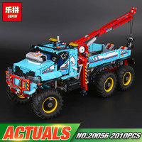 Lepin 20056 1912Pcs Technic Series The Ultimate Terrain 6X6 Remote Control Truck Set 42070 Building Blocks
