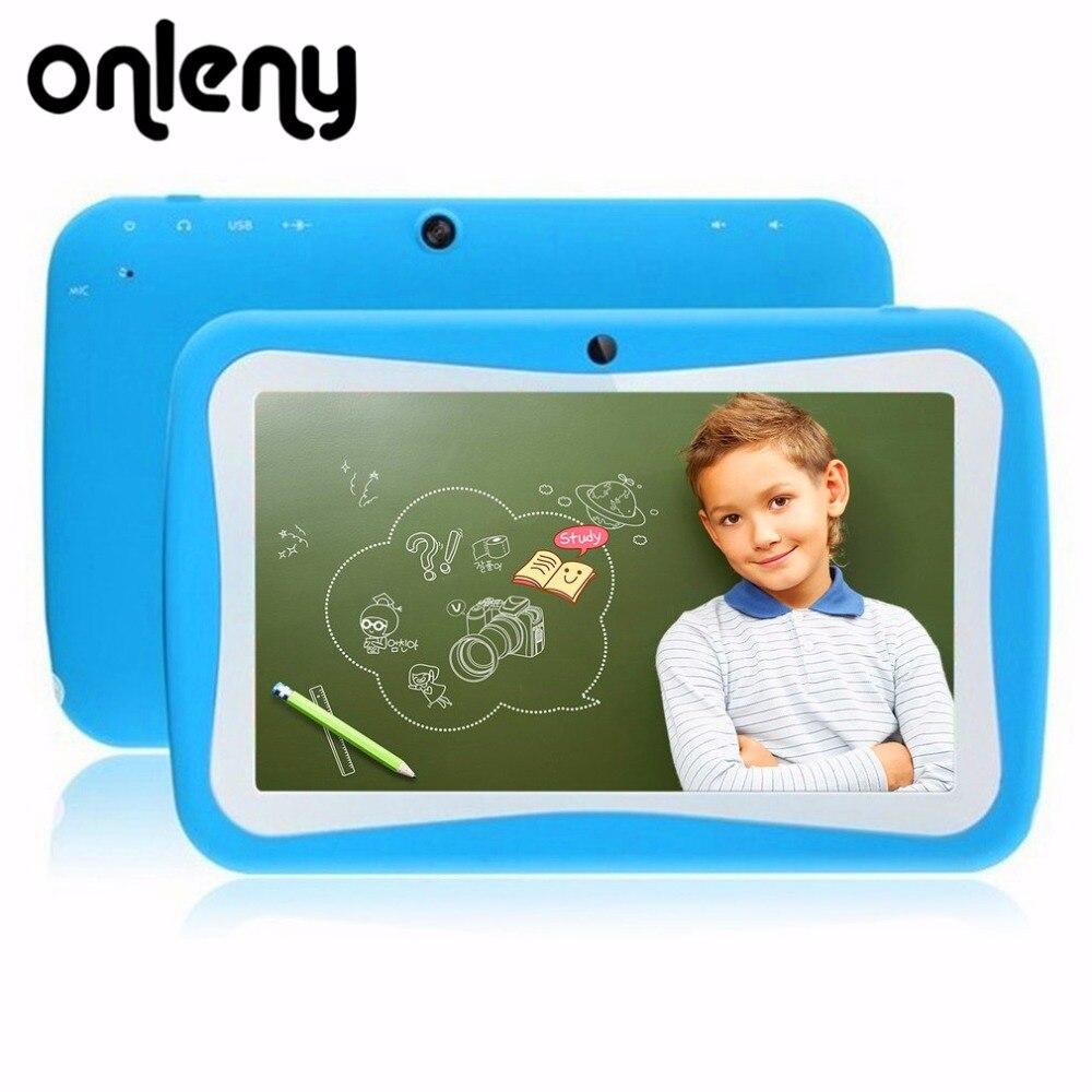 Здесь продается  Onleny 7 Inch Kids Tablets PC 512MB 8G Quad Core Android 5.1 Tablet 1024x600 M744 Tablet PC kids Gift Tablet Pc Baby tab  Компьютер & сеть
